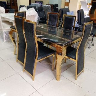 Marble top dinning set